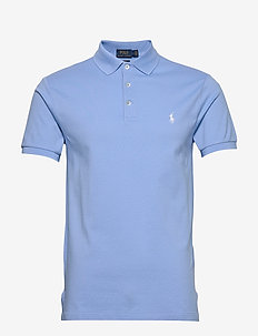 Slim Fit Stretch Mesh Polo - korte mouwen - blue lagoon/c1750