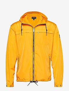 Packable Hooded Jacket - SLICKER YELLOW