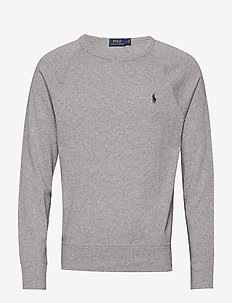 Cotton Spa Terry Sweatshirt - swetry - andover heather