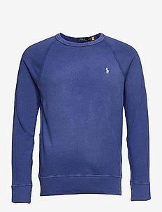 Cotton Spa Terry Sweatshirt - clothing - bright navy