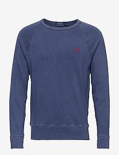 Cotton Spa Terry Sweatshirt - sweatshirts - cruise navy