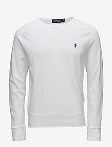 Cotton Spa Terry Sweatshirt - WHITE