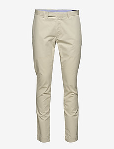 Stretch Slim Fit Chino Pant - casual - basic sand