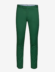 Stretch Slim Fit Chino Pant - pantalons chino - bush green