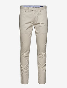 Stretch Slim Fit Chino Pant - casual - dove grey