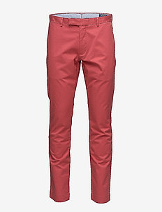 Stretch Slim Fit Chino Pant - NANTUCKET RED