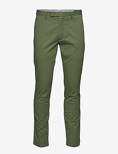 Stretch Tailored Slim Chino - ARMY OLIVE