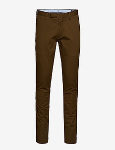 Stretch Tailored Slim Chino - HOLIDAY BROWN