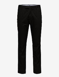 Stretch Tailored Slim Chino - POLO BLACK
