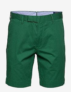 Stretch Slim Fit Chino Short - tailored shorts - bush green