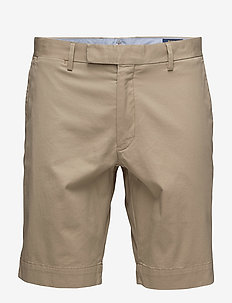 Stretch Slim Fit Chino Short - tailored shorts - classic khaki