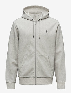 Double-Knit Full-Zip Hoodie - hettegensere - lt sport heather