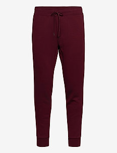 Double-Knit Jogger - CLASSIC WINE
