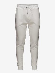 Double-Knit Jogger - WHITE