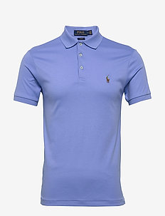 Slim Fit Interlock Polo Shirt - korte mouwen - cabana blue
