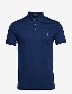 Slim Fit Soft-Touch Polo Shirt - HOLIDAY SAPPHIRE