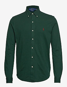 Featherweight Mesh Shirt - COLLEGE GREEN
