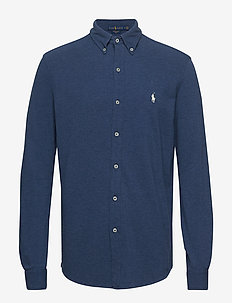 Featherweight Mesh Shirt - oxford-skjorter - derby blue heathe