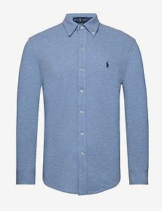 Featherweight Mesh Shirt - oxford skjorter - jamaica heather/c