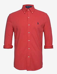 Featherweight Mesh Shirt - oxford-skjorter - rosette heather/c