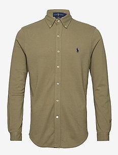 Featherweight Mesh Shirt - oxford shirts - sage green/c7998