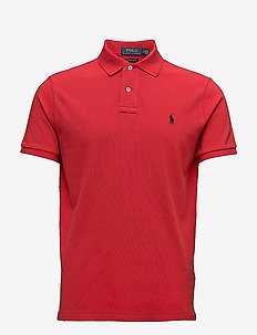 Custom Slim Fit Mesh Polo - RL2000 RED