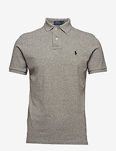 Custom Slim Fit Mesh Polo - kurzärmelig - canterbury heathe