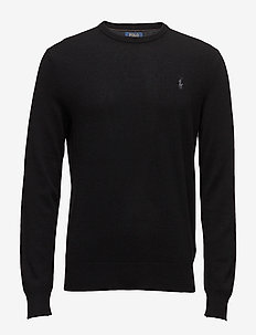 LS CN PP-LONG SLEEVE-SWEATER - POLO BLACK