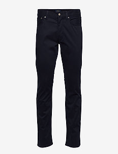 SLIM STRAIGHT VARICK 5 PKT PANT - slim jeans - collection navy