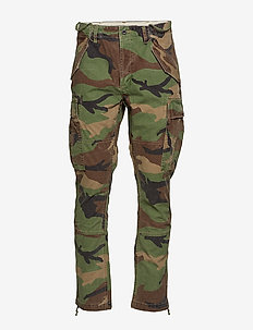 Slim Fit Cargo Pant - bojówki - surplus camo