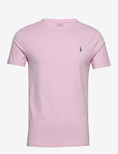 Custom Slim Crewneck T-Shirt - basis-t-skjorter - carmel pink/c7349