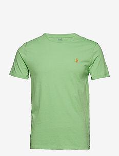 Custom Slim Fit Cotton T-Shirt - NEW LIME
