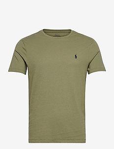 Custom Slim Crewneck T-Shirt - short-sleeved t-shirts - sage green/c7998