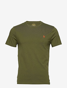 Custom Slim Crewneck T-Shirt - short-sleeved t-shirts - supply olive