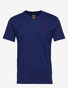 Custom Slim Fit V-Neck T-Shirt - HOLIDAY SAPPHIRE