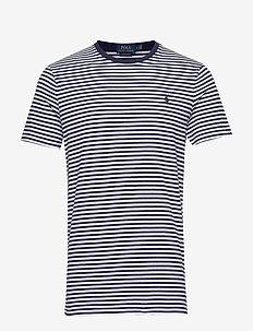 Custom Slim Fit T-Shirt - white/newport nav