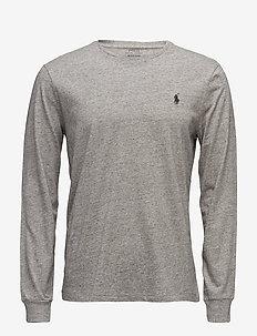 036bc1e5 Custom Slim Fit Cotton T-Shirt - DARK VINTAGE HEAT. 45%. Polo Ralph Lauren.  Custom slim ...