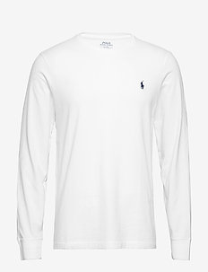 LSCNCMSLM5-LONG SLEEVE-T-SHIRT - WHITE