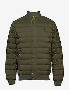 Packable Down Baseball Jacket - EXPEDITION OLIVE