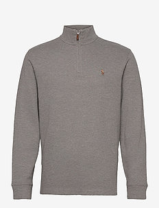 Estate-Rib Cotton Pullover - half zip-tröjor - metallic grey hea