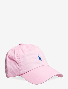Cotton Chino Baseball Cap - CARMEL PINK
