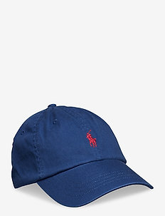 Cotton Chino Baseball Cap - caps - holiday sapphire