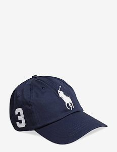 Cotton Chino Baseball Cap - NEWPORT NAVY