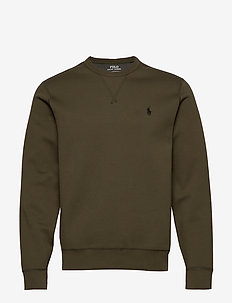 Double-Knit Sweatshirt - podstawowe bluzy - company olive/c97