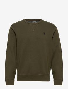 Double-Knit Sweatshirt - basic sweatshirts - company olive/c97