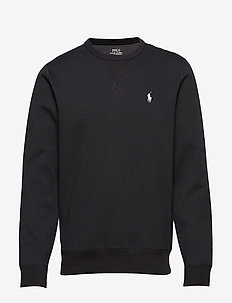 Double-Knit Sweatshirt - POLO BLACK/CREAM