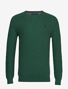 Cotton Crewneck Sweater - STUART GREEN HEAT
