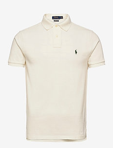 Custom Slim Fit Mesh Polo - short-sleeved polos - nevis