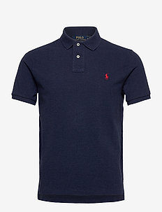 Custom Slim Fit Mesh Polo - polos à manches courtes - spring navy heath