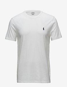 Custom Slim Fit Cotton T-Shirt - basic t-shirts - white